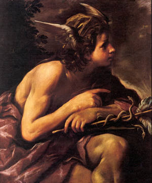 Giovanni Antonio Burrini, Mercurio, 1681 - 1690